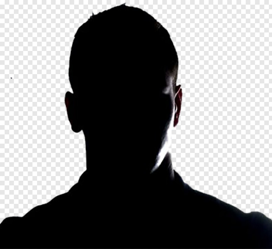 Person Back - Handsome Man In Shadow, HD Png Download