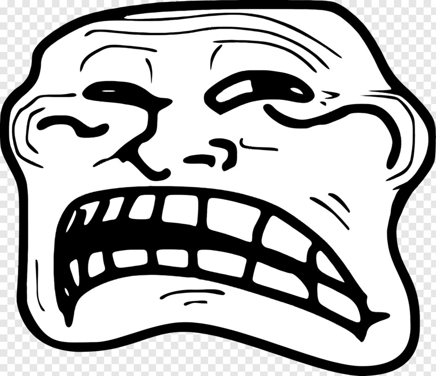 Troll Face Troll Face Transparent Png 962x830 192705 Png