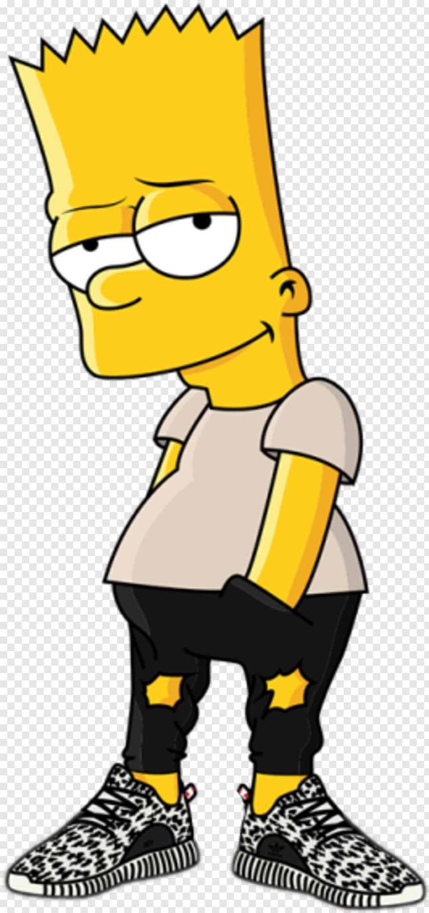 Homer Simpson Bart Simpson Png Hd Png Download 467x630