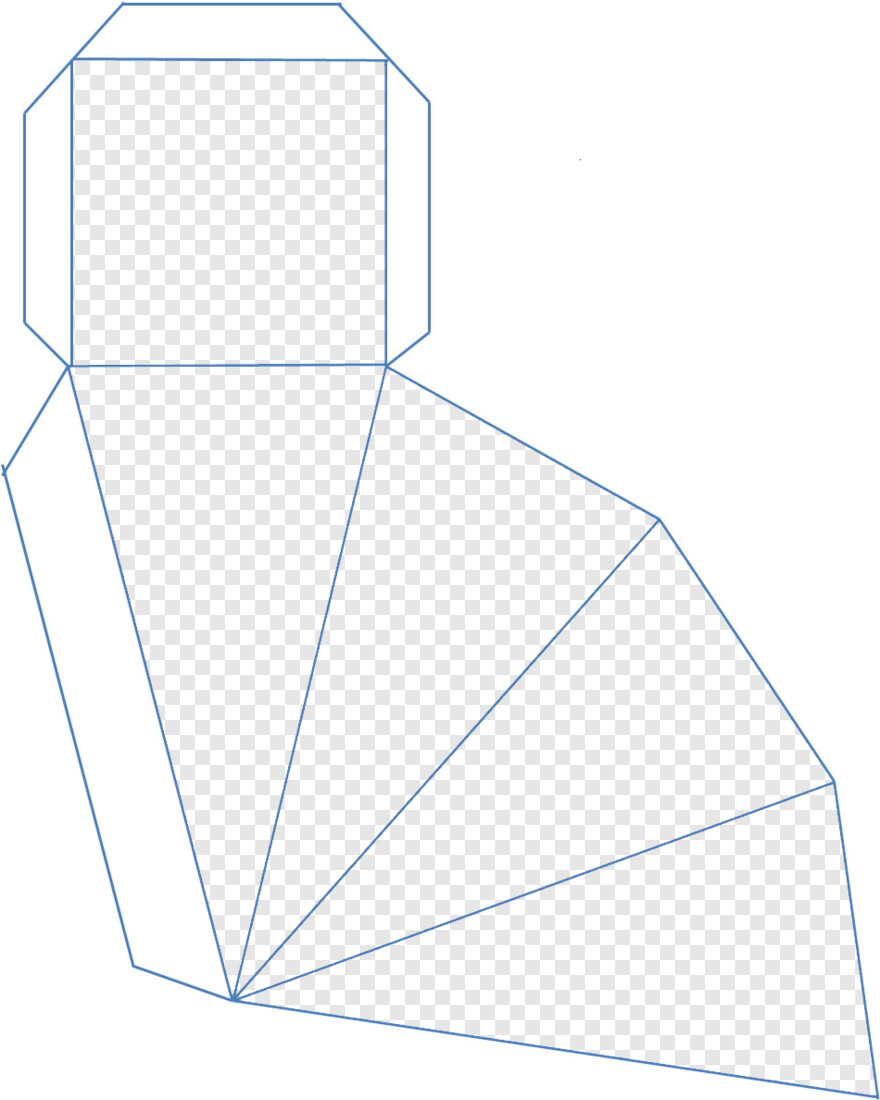 Piramide Molde De Caixa Piramide Png Png Download 950x1188