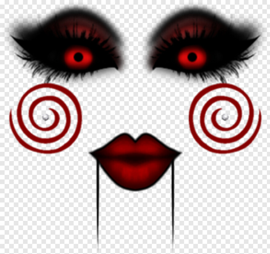 Scary Face Face Png Terror Transparent Png 1024x1024