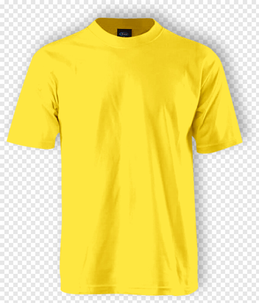 Yellow Shirt Plain T Shirt Front And Back Yellow Png Download 555x649 8084440 Png Image Pngjoy