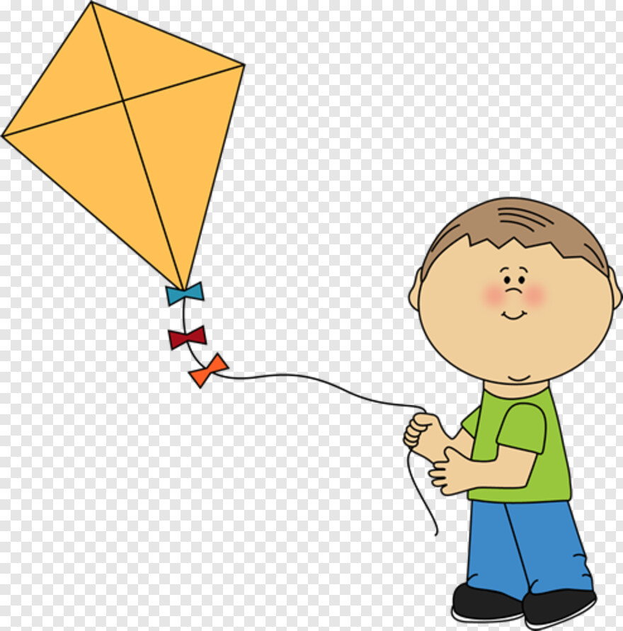 Kite Flying A Kite Clipart Transparent Png 494x500 1069856