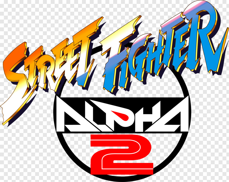 Capcom Logo - Street Fighter Alpha 2 Logo, Transparent Png