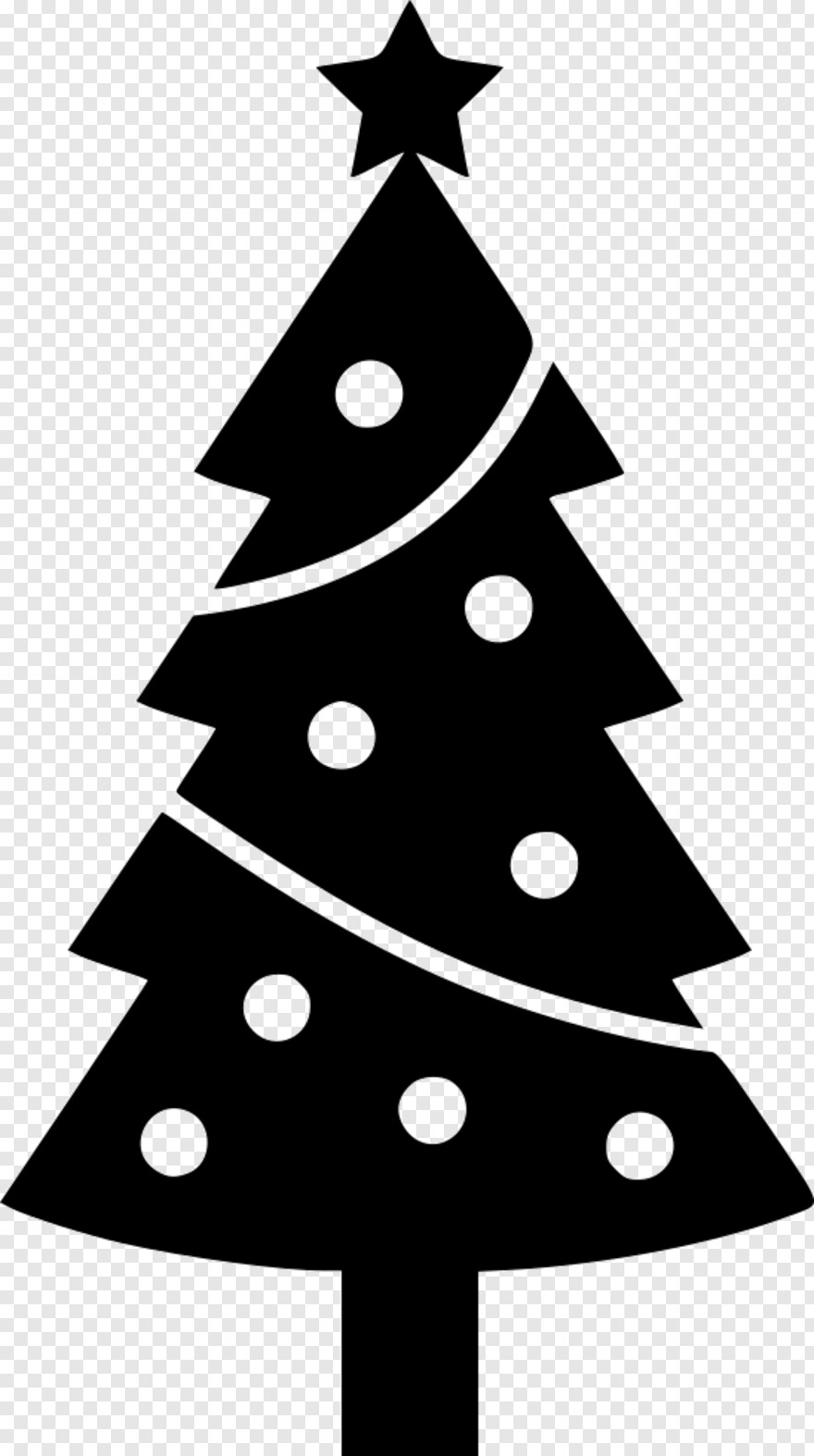 White Tree , Christmas Tree Svg Free, HD Png Download