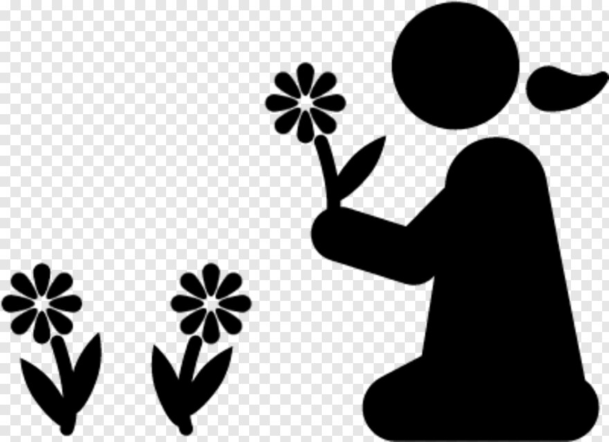 Flowers Vector Children And Nature Icon Hd Png Download