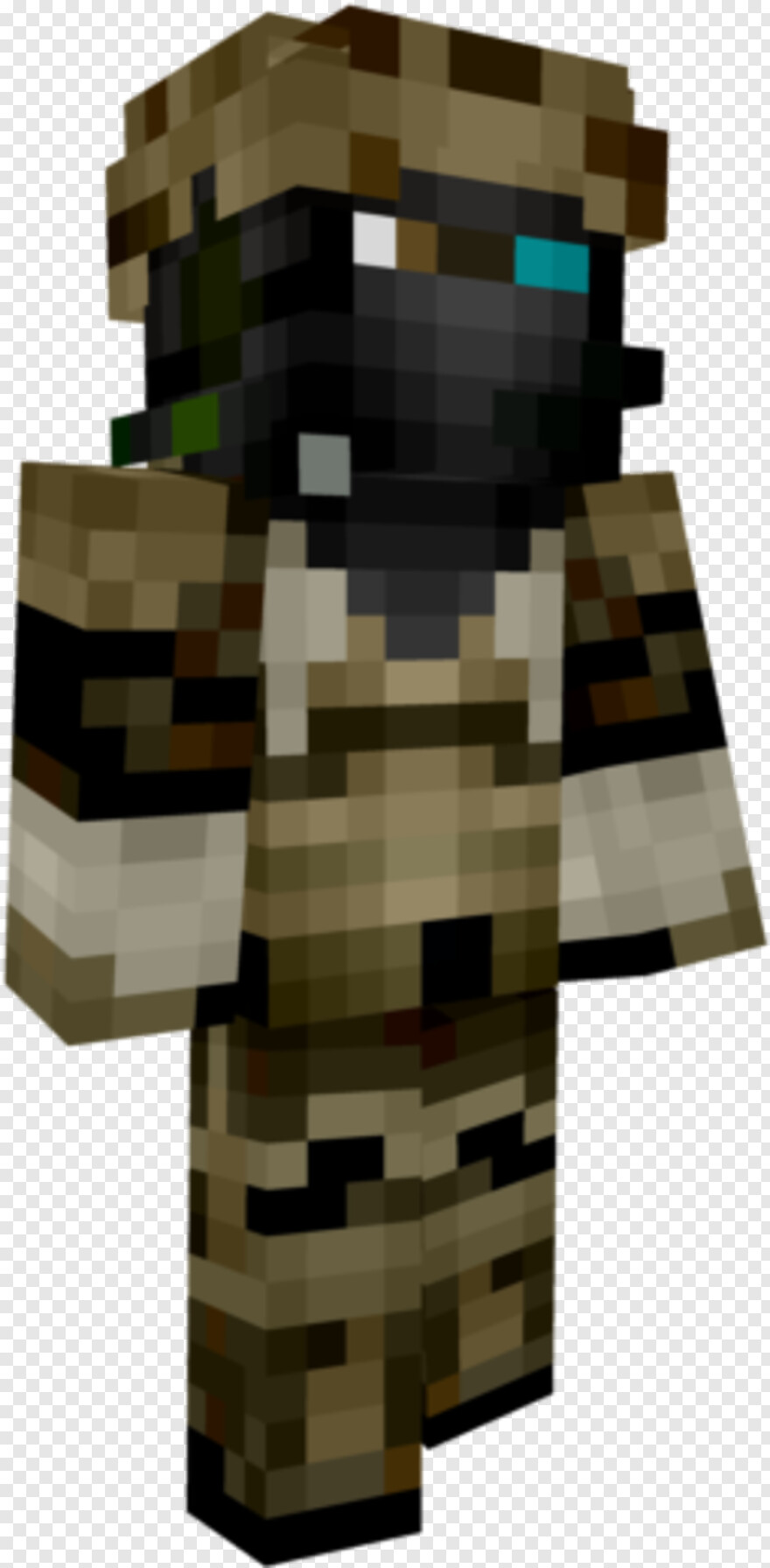 Future Soldier - Ghost Recon Future Soldier Minecraft Skin, HD Png