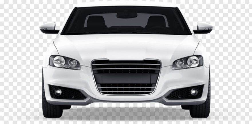 Car Front - White Car Front Png, Transparent Png