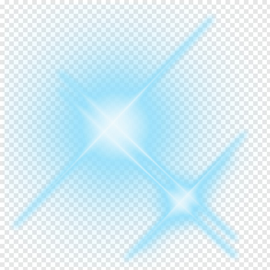 Blue Lens Flare - Photoscape New Png Effects, Png Download