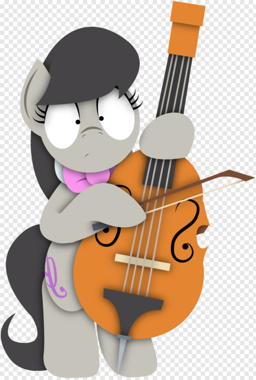 Cello Cello Vector Instrument Hd Png Download 734x1024
