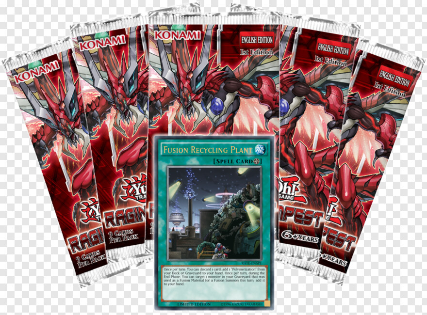 Yu Gi Oh - Yu-gi-oh! Trading Card Game: Raging Tempest - Blister, HD Png Download