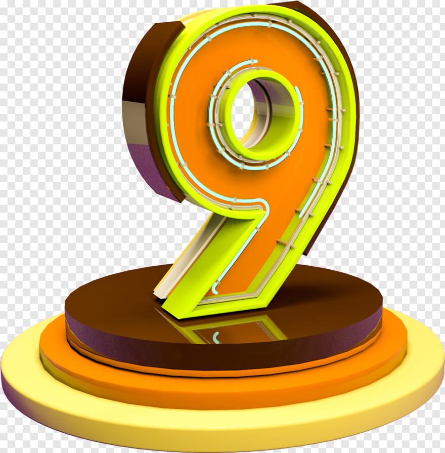 C4d Logo C4d Color Stro Numrique 9e Anniversaire Dcoration