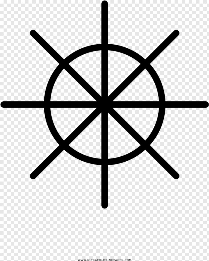 Ship Wheel Compass Tattoo Designs Simple Hd Png Download 647x809 1662262 Png Image Pngjoy