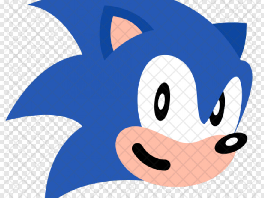 Sonic Face Sonic The Hedgehog Icon Png Download 640x480 9198845 Png Image Pngjoy