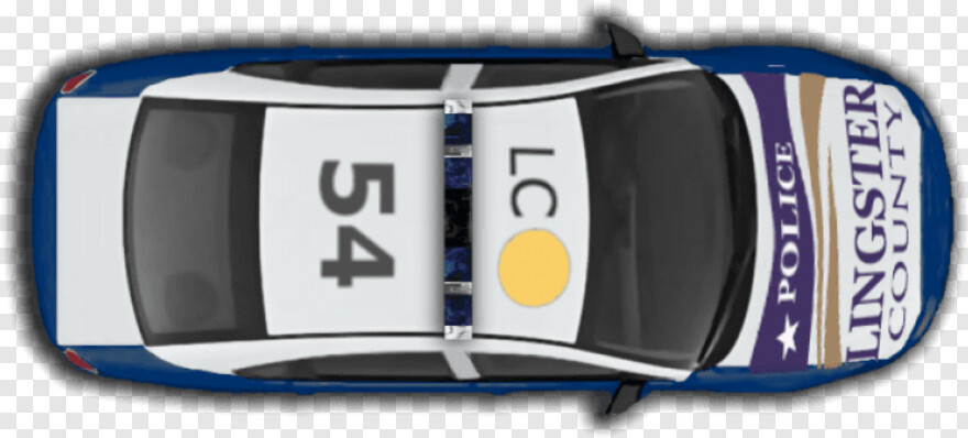 Vehicle Clipart - Police Car Top Png, Transparent Png