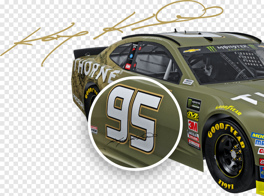 Race Car - Kasey Kahne 95 Car, HD Png Download