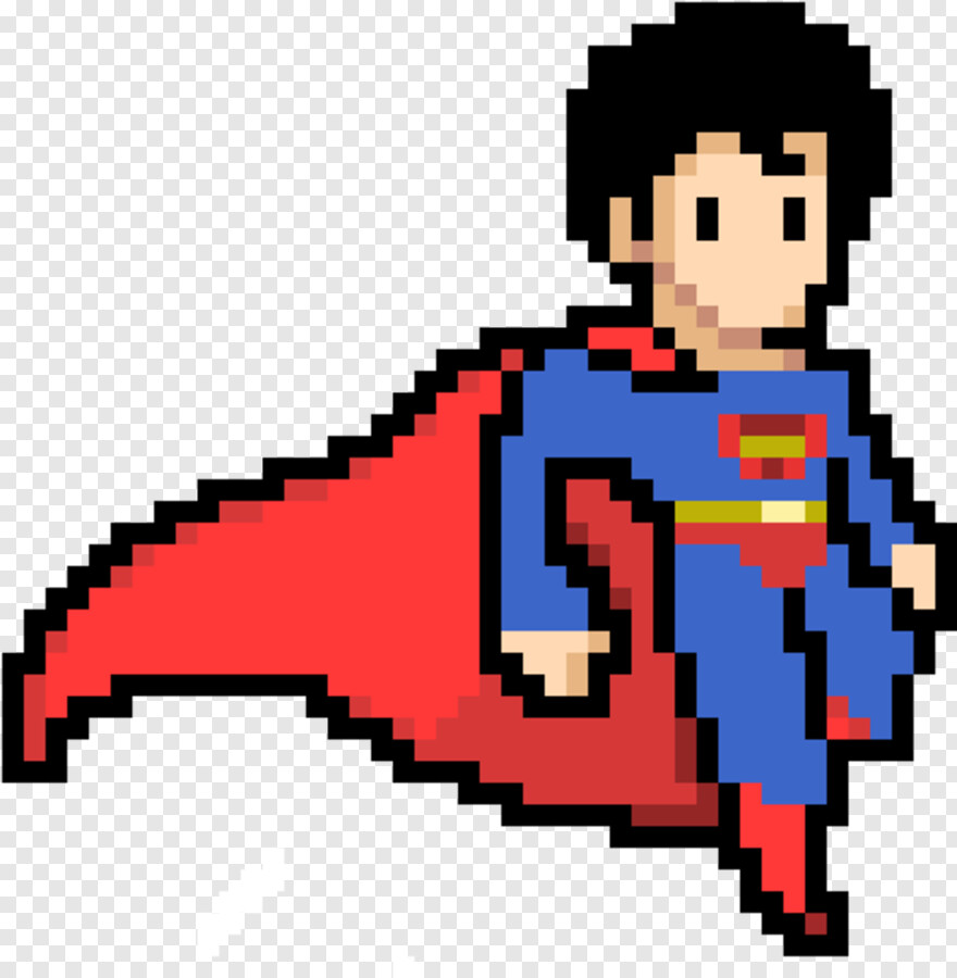 Superman Clipart Pixel Art Superman Hd Png Download