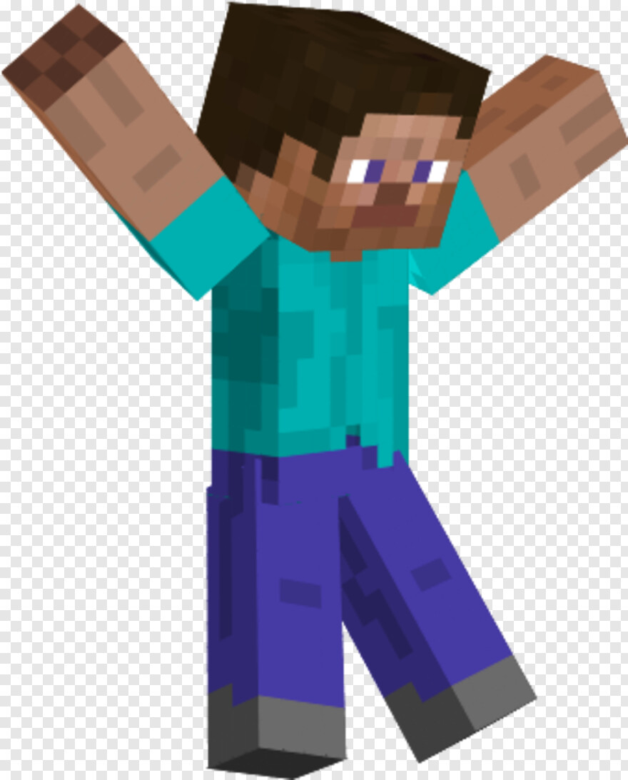 Minecraft Steve Minecraft Steve Transparent Png Download