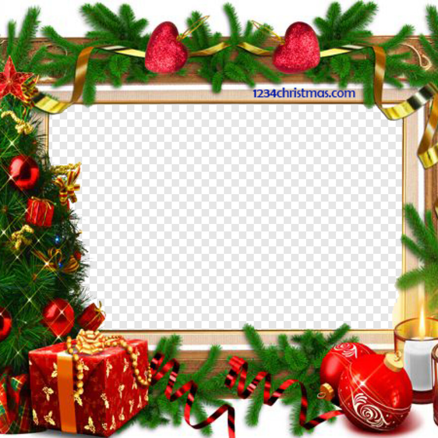 Merry Christmas Border Design
