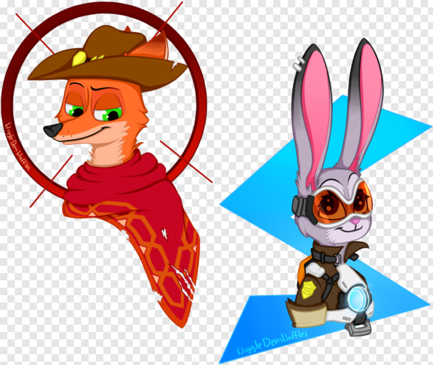 Overwatch Mccree - Zootopia X Overwatch, HD Png Download