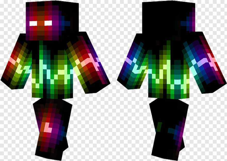 Cool Png Green And Black Minecraft Skins Hd Png Download 778x550 1772869 Png Image Pngjoy