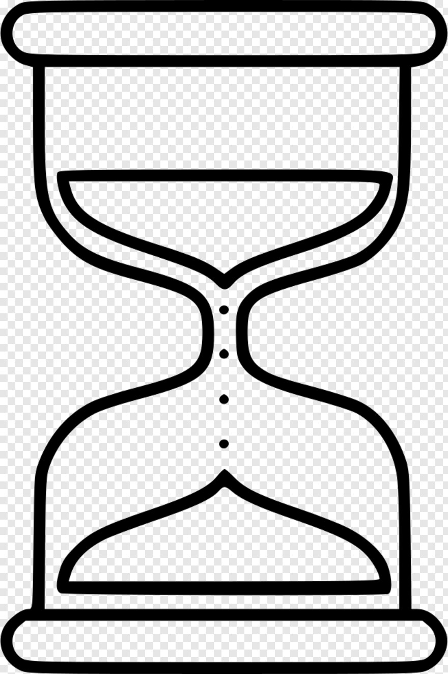 Hour Glass - Hourglass Png Drawing, Transparent Png