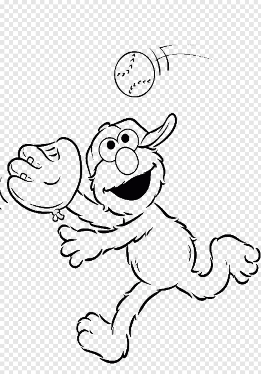 Printable Elmo Coloring Pages For Kids | 1257x880