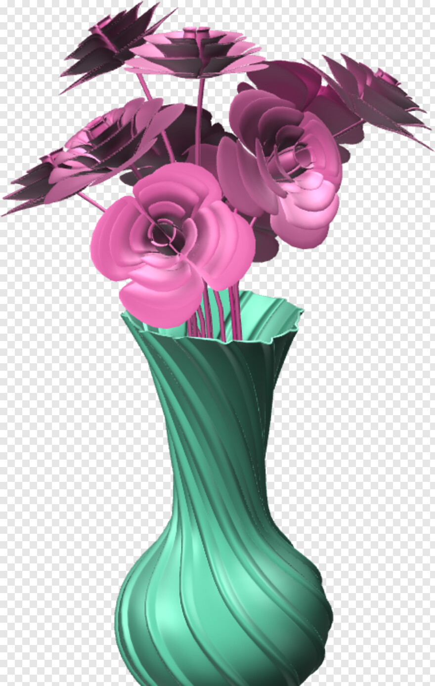 Beautiful Flower Vase With Flowers Artificial Flower Hd Png Download 475x749 10269539 Png Image Pngjoy