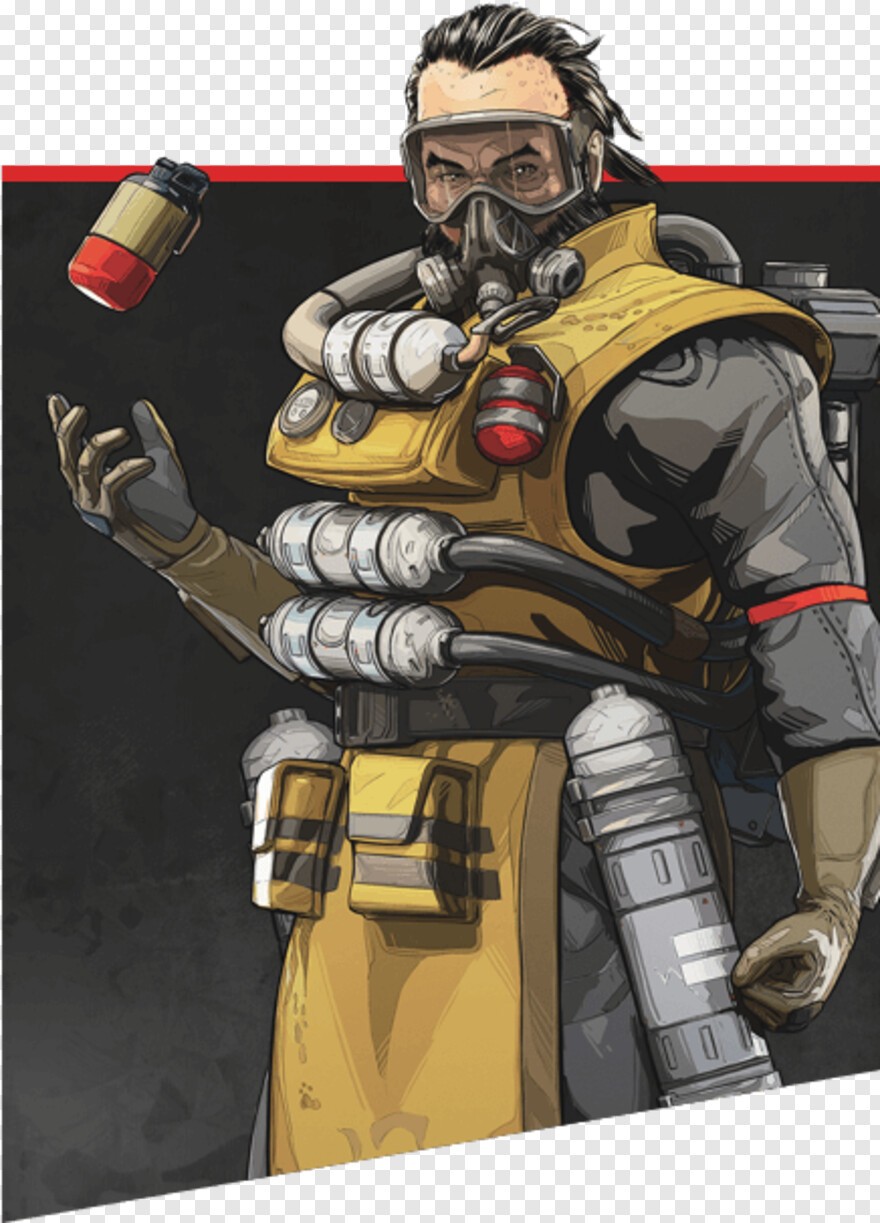 Funny Moments - Apex Legends Caustic, Png Download