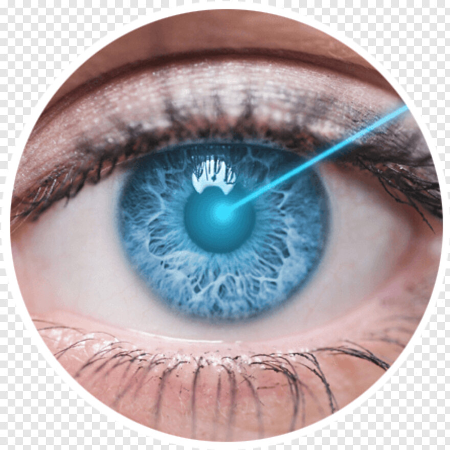 Laser Eye - Oeil Zoom, Png Download