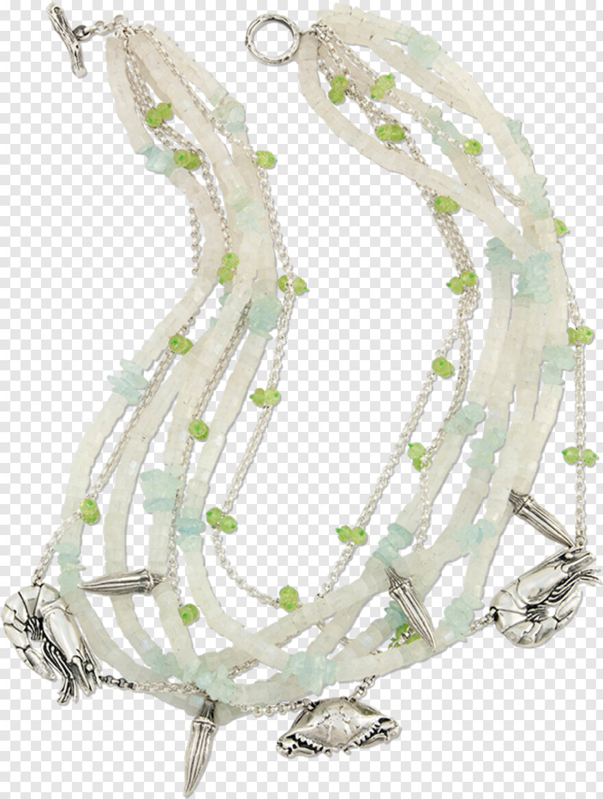 Mignon Faget Gumbo Moonstone Necklace