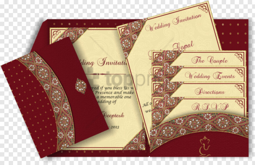 Border Design Hd Shadi Card Hd Png Hd Png Download
