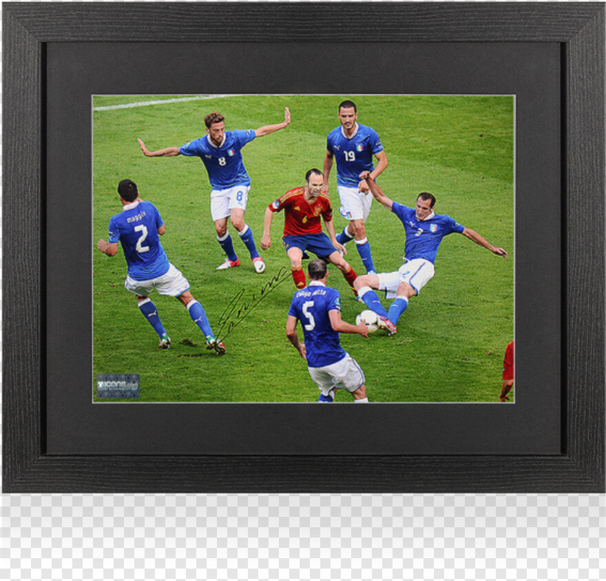 Wooden Frames - Andrs Iniesta, Png Download