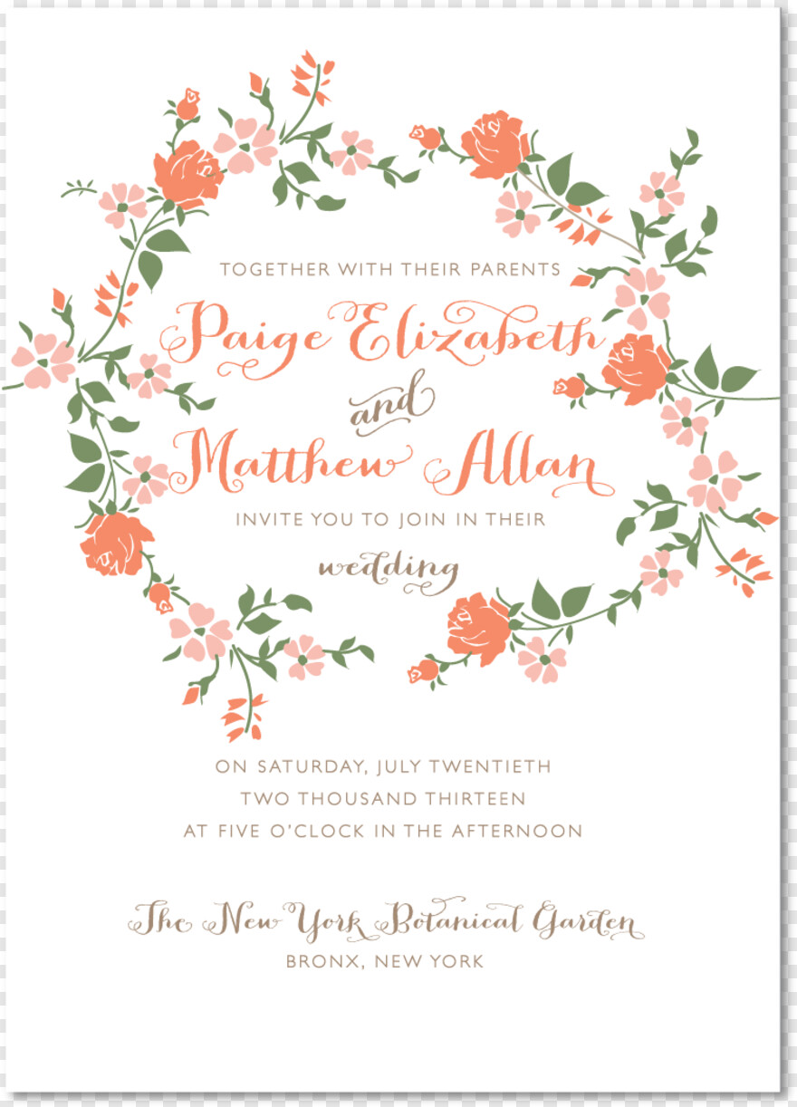 Indian Wedding Card Sample Invitations Garden Wedding Png
