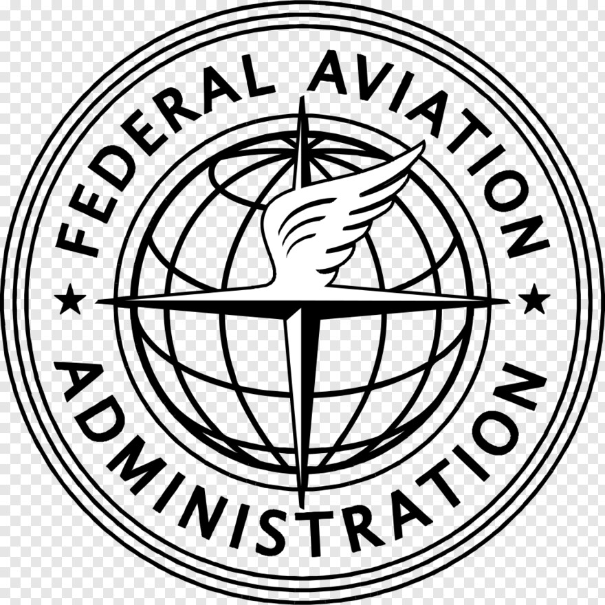 Faa Logo Black And White Hd Png Download 1024x1024 10921107 Png Image Pngjoy