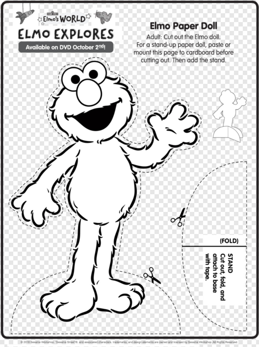 Free Elmo Face Coloring Page, Download Free Clip Art, Free Clip ... | 1179x880