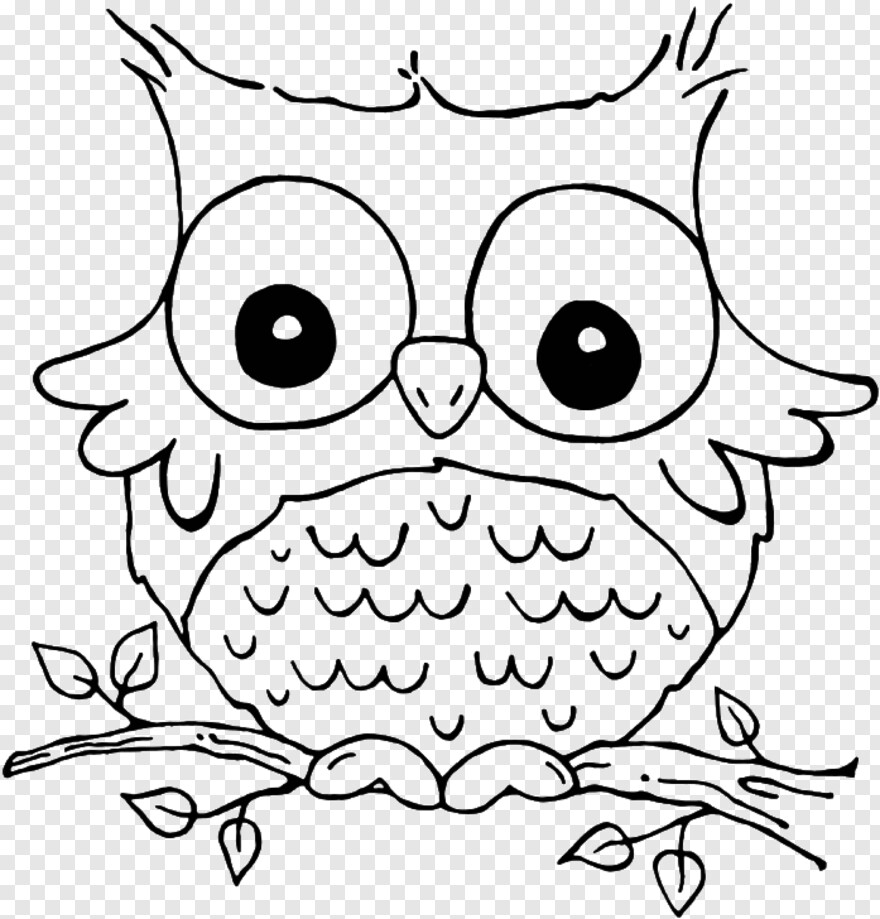 Cute Owl Fall Coloring Pages Owl Hd Png Download 697x728 2033863 Png Image Pngjoy