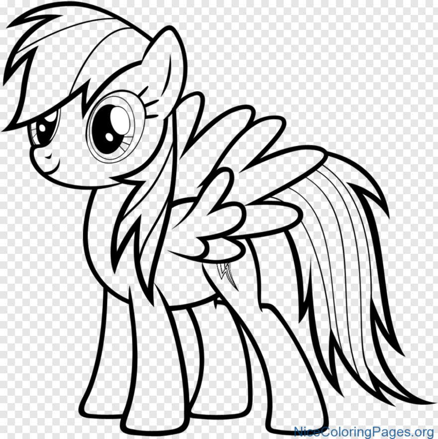 Rainbow Dash - Rainbow Dash Coloring Pages, Png Download - 855x857  (#11246141) PNG Image - PngJoy