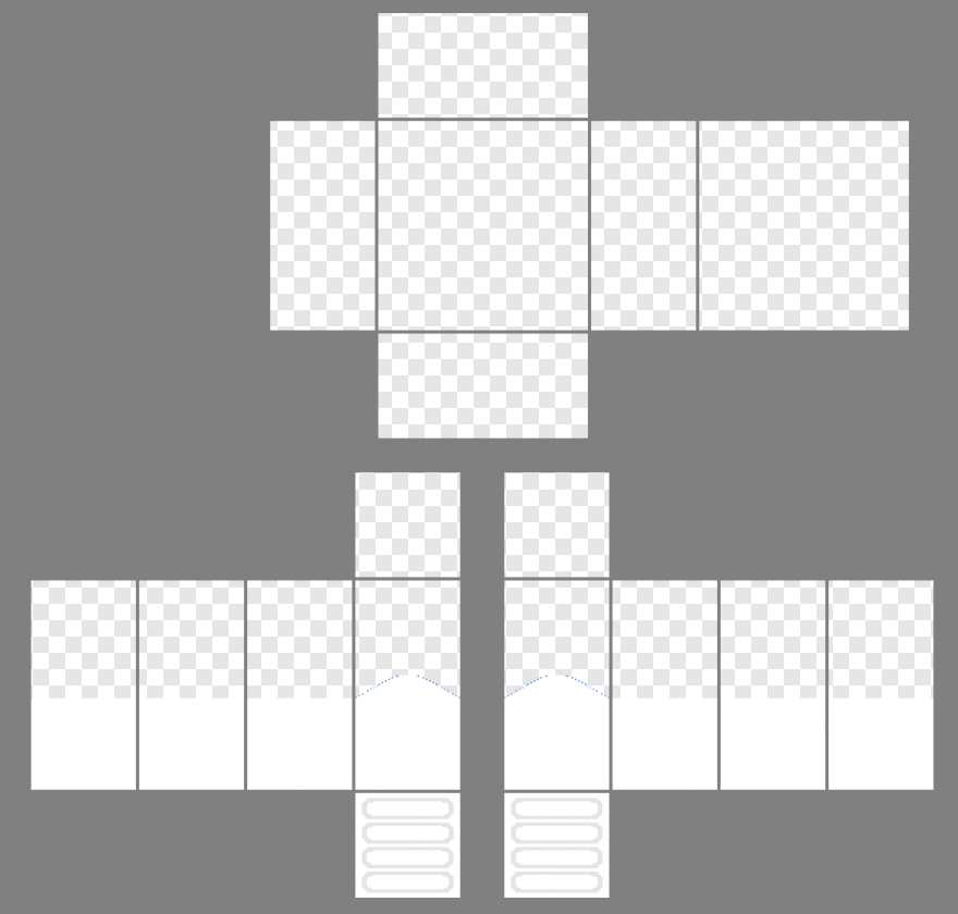 Roblox Player Roblox Empty Shirt Template Transparent Png