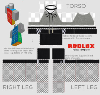 Roblox Shirt Template Png Images For Download With Transparency