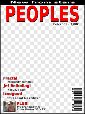 Magazine Cover Png Images For Download With Transparency