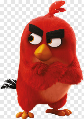 Angry Birds Red Angry Birds Hd Png Download 400x567 7282901 Png Image Pngjoy