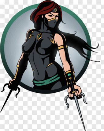 Sai Shadow Fight 2 Female Ninja Transparent Png 1112x1112