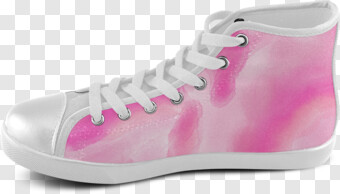 Unisex Abstract Art High Top Canvas Shoes